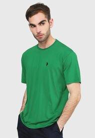 Camiseta Verde Us Polo Assn