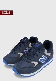 Tenis Lifestyle Azul-Gris New Balance Kids 393