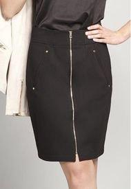 Falda Mujer Roma Negro Rock Liola