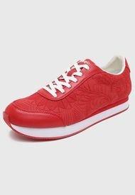 Zapatilla Urbana Rojo Desigual