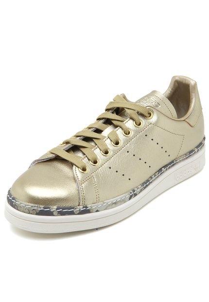 Tênis adidas Originals Stan Smith New Bold W Dourado - Marca adidas Originals