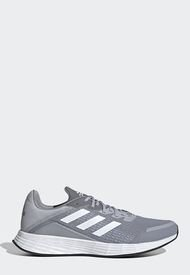 Tenis Running Gris-Blanco adidas Performance Duramo SL