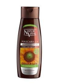 Mascarilla Coloursafe Castaños 300Ml Naturvital