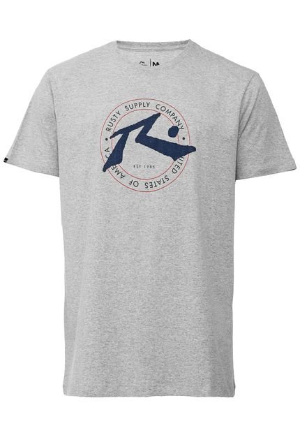 Camiseta Rusty Horizon Cinza