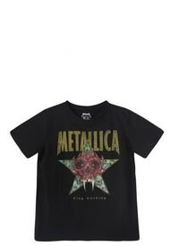 Polera MC Star Negro Metallica