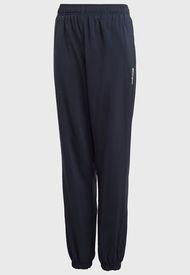 Pantalón de Buzo adidas performance Yb E Pln Stf Pt Azul - Calce Regular