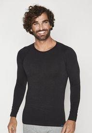 Camiseta Primera Capa Termica Viscosa Negra Mota