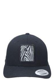 Jockey Trucker De Malla Zebra Negro Panama Jack