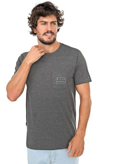 Camiseta Billabong Atlantic Point Grafite