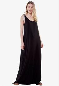 Vestido Bimba Largo Negro Jacinta Tienda