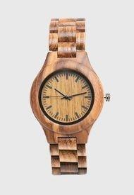 Reloj Pulsera Madera Marrón Millam