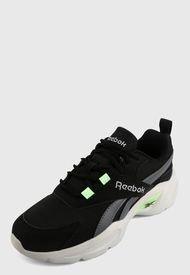 Tenis Running Negro-Gris-Verde-Blanco Reebok Classics Royal EC Ride 4