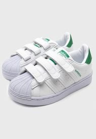 Zapatilla Urbana Niño SUPERSTAR CF C Blanco adidas originals