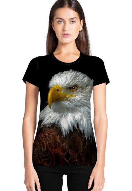 Ramavi Camiseta Feminina Ramavi Águias  Manga Curta ntTt1