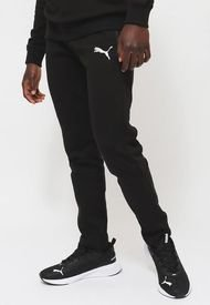 Pantalón de Buzo Puma EVOSTRIPE Pants Negro - Calce Slim Fit