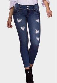 Jeans Levanta Cola Madagascar Azul Marino TYT Jeans