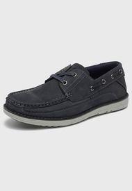 Zapato Cuero Azul Great Bull