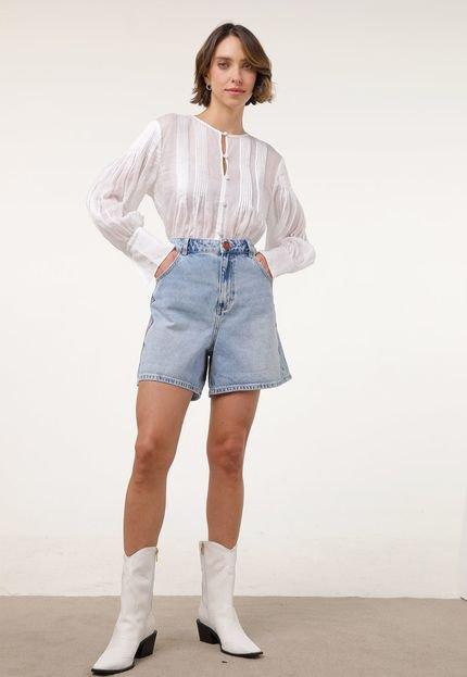 Desigual Short Jeans Desigual Mary Azul UIC10