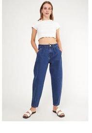 Jeans Slouchy Azul Amalia Jeans