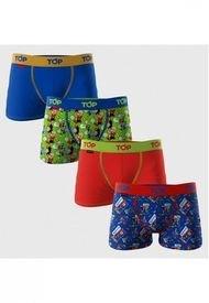 Boxer Medio Niño Algodón Pack 4 Condorito Top