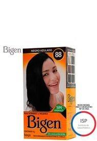 Tinte Permanente Polvo Mujer 88 Negro Azulado Bigen