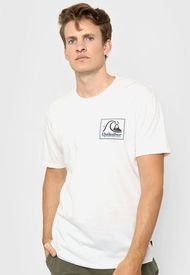 Remera Blanca Quiksilver Leaping Ideas