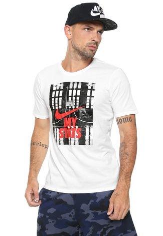 Norma Absay romano  Camiseta Nike Estampada Branca - Compre Agora | Kanui Brasil