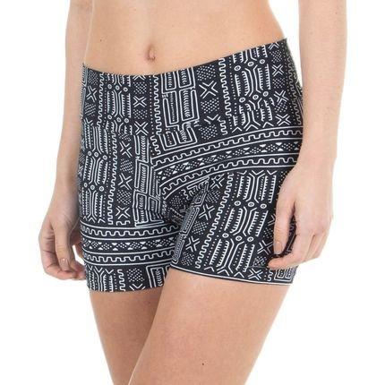 Marcyn Active Short Fit Estampado Tribal - 524.8114 Marcyn Active Bermudas e Shorts Multicolorido V7UNN