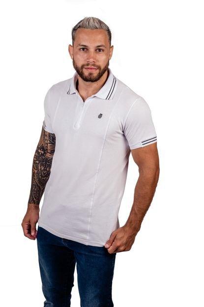 Camisa Arsenal Textil Pólo Branca