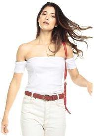 Camiseta Crop Top Blanca Ambiance