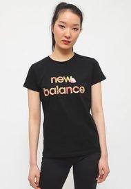 Polera New Balance Lifestyle Negro - Calce Regular