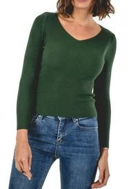 Sweater Verlac Verde Guinda