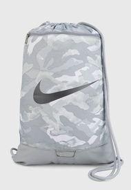 Tula Gris-Blaco Nike Brasilia Gym Sack
