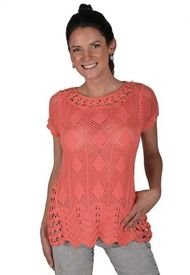 Sweater Coral Alexandra Cid