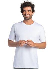 Camiseta Manga Corta Algodón Blanco Mota