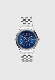 Reloj Análogo Plateado Swatch