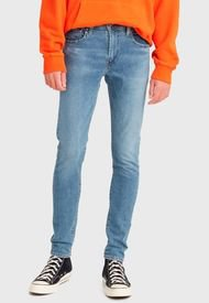 Jeans Levis  LVM 8455801  Azul - Calce Skinny