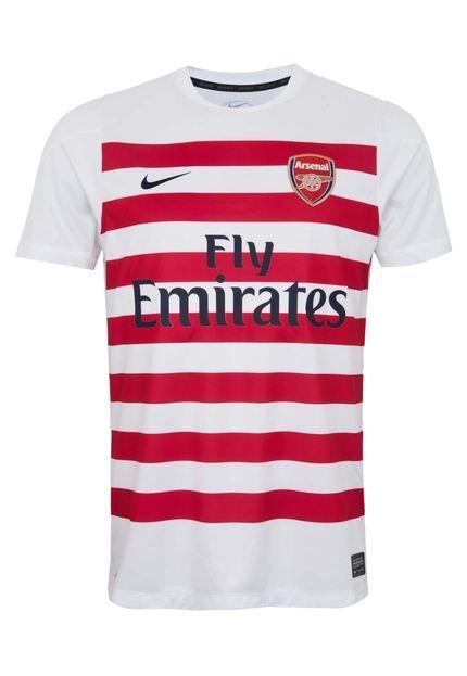 construcción racional Boutique en ligne nueva colección Camiseta Nike Arsenal Squad Pm Branca - Compre Agora | Dafiti ...