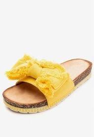 Sandalia Lazo Yellow Chancleta