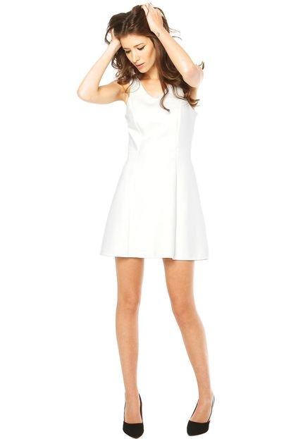 Vestido Mng Barcelona Branco