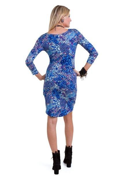Manola Vestido Manola Mini Mullet Azul