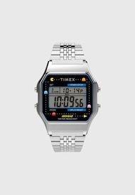 Reloj Digital Plateado Timex