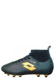 Zapatos Futbol Solista Sock FG Jr Negro Lotto