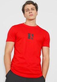 Camiseta Rojo-Negro Calvin Klein