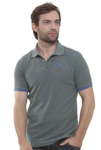 Camisa Polo Oitavo Ato PA Malha Inglesa Dark Blue