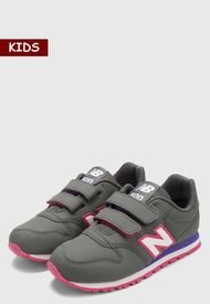 Tenis Lifestyle Gris-Rosa-Blanco New Balance Kids 500