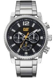 Reloj Hombre Utility Chrono Plateado Cat