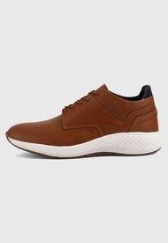 Zapato Casual Miel-Blanco Worker