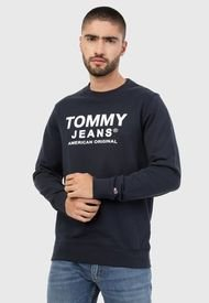 Buzo Azul-Blanco Tommy Jeans