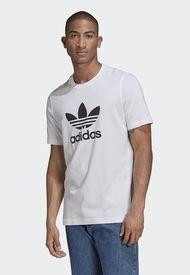Camiseta Blanco-Negro adidas Originals Classics Trefoil